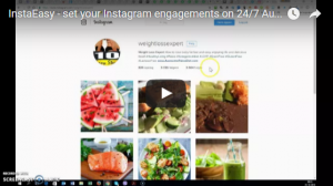 Set your Instagram engagements on 24/7 Autopilot with InstaEasy